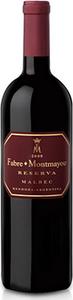 Fabre Montmayou Reserva Malbec 2012, Mendoza Bottle