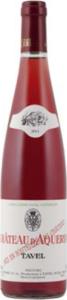 Château D'aquéria Tavel Rosé 2013, Ac Bottle