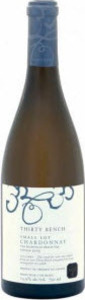 Thirty Bench Small Lot Chardonnay 2011, VQA Beamsville Bench Bottle