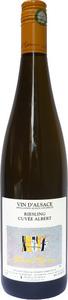 Domaine Albert Mann Riesling Cuvée Albert 2012 Bottle