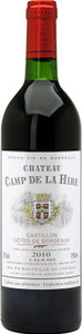 Château Camp De La Hire 2010, Ac Castillon Côtes De Bordeaux Bottle