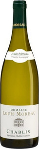 Domaine Louis Moreau Chablis 2011, Ac Bottle