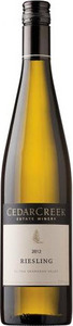 CedarCreek Riesling 2010, BC VQA Okanagan Valley Bottle