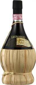 Leonardo Chianti Fiasco 2012 Bottle