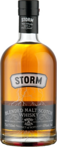 Storm Blended Malt Whisky Bottle