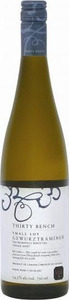 Thirty Bench Small Lot Gewurztraminer 2012, Beamsville Bench Bottle