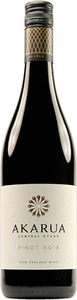 Akarua Central Otago Pinot Noir 2011 Bottle
