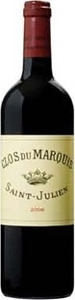 Clos Du Marquis 2000, Ac St Julien, 2nd Wine Of Château Léoville Las Cases Bottle