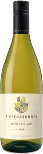 Tiefenbrunner Pinot Grigio 2013, Igt Delle Venezie Bottle