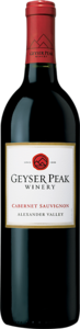 Geyser Peak Cabernet Sauvignon 2009, Alexander Valley, Sonoma County Bottle