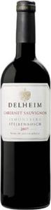 Delheim Cabernet Sauvignon 2011, Wo Stellenbosch Bottle