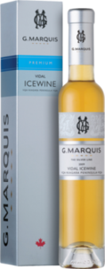 G. Marquis The Silver Line Vidal Icewine 2008, VQA Niagara Peninsula (375ml) Bottle