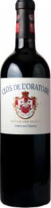 Château Clos De L'oratoire 2010, Ac Saint émilion Grand Cru Classé Bottle