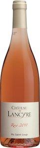 Château De Lancyre Rosé 2014, Pic Saint Loup Bottle