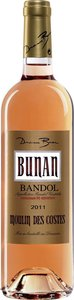 Domaine Bunan Moulin Des Costes Bandol Rosé 2011 Bottle