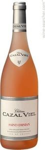 Cazal Viel Vieilles Vignes Saint Chinian Rosé 2013 Bottle