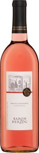 Baron Herzog White Zinfandel Kp M 2012 Bottle