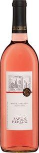 Baron Herzog White Zinfandel Kp M 2013 Bottle