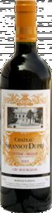 Château Saransot Dupré Cru Bourgeois 2010, Ac Listrac Medoc Bottle