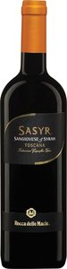 Rocca Delle Macìe Sasyr Sangiovese/Syrah 2008, Igt Toscana (1500ml) Bottle