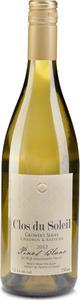 Clos Du Soleil Grower's Series Baessler Pinot Blanc 2013, BC VQA Similkameen Valley Bottle