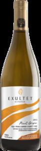 Exultet Pinot Grigio 2013, VQA Prince Edward County Bottle