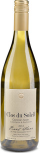 Clos Du Soleil Grower's Series Pinot Blanc 2012, BC VQA Similkameen Valley Bottle