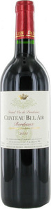 Chateau Bel Air 2012, Bordeaux Bottle