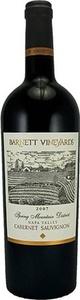Barnett Napa Spring Mountain Cabernet Sauvignon 2011 Bottle