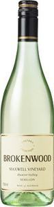 Brokenwood Maxwell Vineyard Semillon 2007, Hunter Valley Bottle