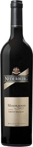 Nederburg Manor House Cabernet Sauvignon 2011, Western Cape Bottle