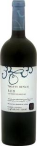 Thirty Bench Red 2011, VQA Beamsville Bench, Niagara Peninsula Bottle