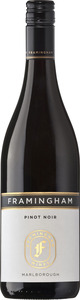 Framingham Wine Pinot Noir 2009 Bottle