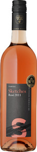 Tawse Sketches Of Niagara Rosé 2013, VQA Niagara Peninsula Bottle