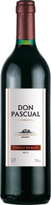 Don Pascual Tannat / Merlot 2012 Bottle