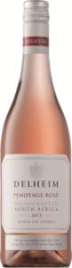 Delheim Pinotage Rosé 2013, Wo Stellenbosch Bottle