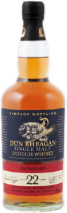 Dun Bheagan Clynelish Port Hogshead Finish 22 Years Old Single Malt Scotch 1990 (700ml) Bottle
