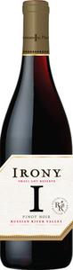 Irony Small Lot Reserve Pinot Noir 2012, Monterey Bottle