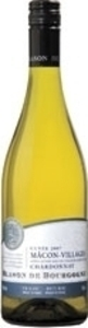 Blason De Bourgogne Chardonnay Mâcon Villages 2013, Ac Bottle
