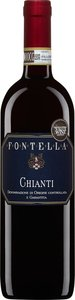 Fontella 2012, Chianti Bottle