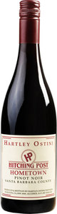 Hartley Ostini Hitching Post Hometown Pinot Noir 2012, Santa Barbara County Bottle