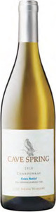Cave Spring Estate Bottled Chardonnay 2012, VQA Beamsville Bench, Niagara Peninsula Bottle