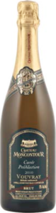 Château Moncontour Cuvée Prédilection Brut Vouvray 2011, Ac, Loire Valley, France, Méthode Traditionnelle Bottle