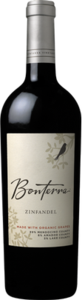 Bonterra Zinfandel 2011, Mendocino/Amador/Lake Counties Bottle