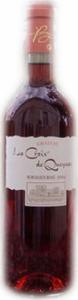 Château La Croix De Queynac Bordeaux Rosé 2013, Ac Bottle