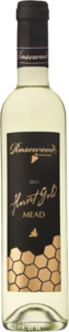 Rosewood Harvest Gold Dry Mead 2013, Honey Wine, Product Of Canada (500ml) Bottle