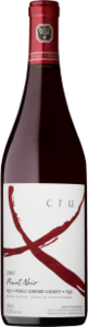 Exultet Estates Cru X Pinot Noir 2011, VQA Prince Edward County Bottle