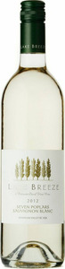 Lake Breeze Sauvignon Blanc 2013, BC VQA Okanagan Valley Bottle