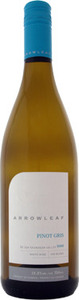 Arrowleaf Pinot Gris 2013, Okanagan Valley Bottle