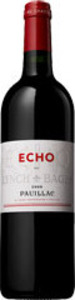 Écho De Lynch Bages 2010, Ac Pauillac Bottle